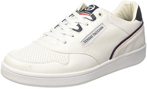 Ltx Tacchini Blanc Homme Navy Court White Sergio 01 Baskets PFvw7xx