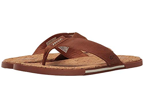 UGG Men's Braven Flip Flop, Tamarind, 14 M US, used for sale  Delivered anywhere in USA