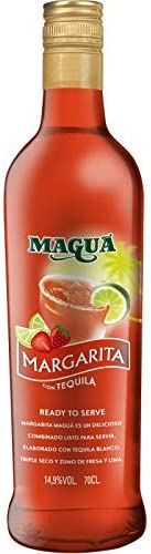 Maguá Margarita fresa - 6 botellas x 700 ml - Total: 4200 ml ...