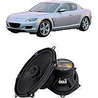 Fits Mazda RX-8 2004-2008 Front Door Factory Replacement Harmony HA-R68 Speakers New