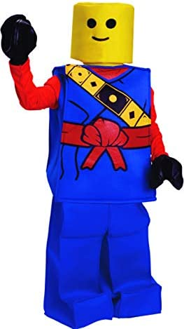 Dress Up America Halloween Kids Toy Block Ninja Man Costume Outfit Blue