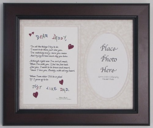 Cheap All Things For Mom Dear Daddy Picture Frame with Taupe Mat 8″x10″
