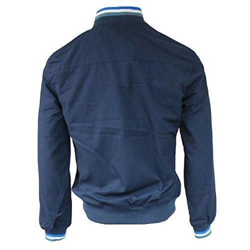 para Azul Chaqueta Hombre Lambretta Marino RqWS078