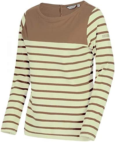 Regatta Women/'s Faizah Coolweave Cotton Jersey Brown