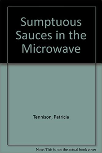Book Sumptuous Sauces in the Microwave