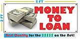 MONEY TO LOAN Banner Sign