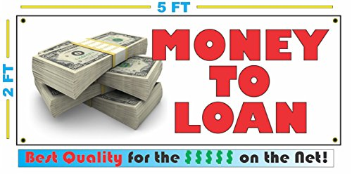 MONEY TO LOAN Banner Sign by SuperSigns