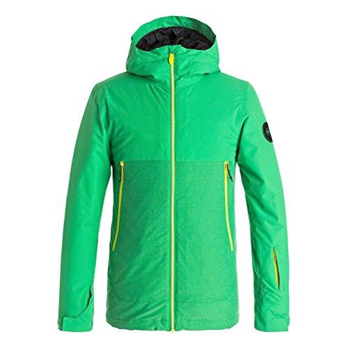 - Quiksilver Sierra Boys Snowboard Jacket - Large/Kelly Green