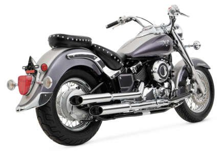 Exhaust Hines Cruzers System (Vance & Hines Cruzer Exhaust System - Chrome)