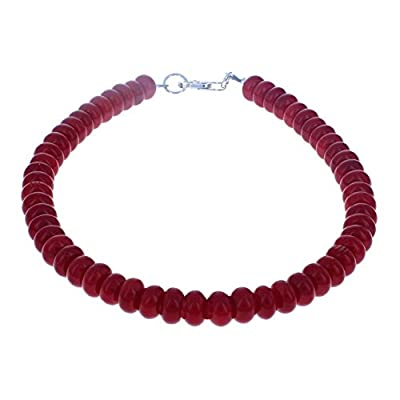 Cheap Timeless-Treasures Womens Red Coral & Sterling Sterling Anklet supplier