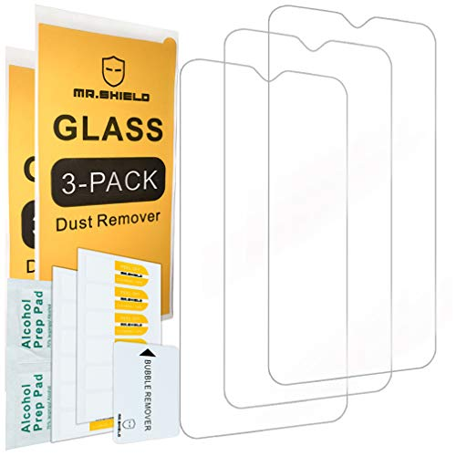 [3-Pack]-Mr.Shield for Samsung Galaxy M10 [Tempered Glass] Screen Protector with Lifetime Replacement Warranty
