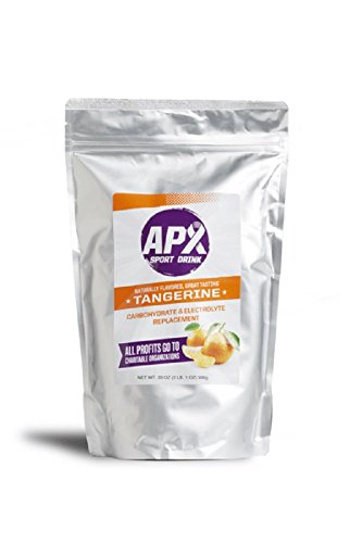 APX Electrolyte Replacement Sport Drink (2 lb. 1 oz.) 33 oz. 936 g Bag (Tangerine)