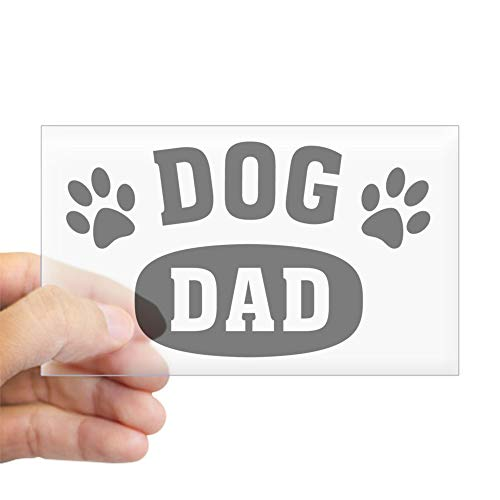 CafePress Dog Dad Rectangle Bumper Sticker Car Decal
