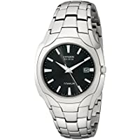 Citizen BM6560-54H Eco-Drive Titanium Men's Watch (Black)