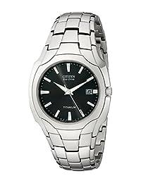 Citizen Men's BM6560-54H Eco-Drive Titanium Grey Dial Watch