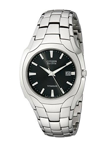 - Citizen Men's Eco-Drive Tintanium Watch, BM6560-54H