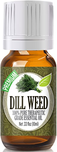 Dill Weed 100% Pure, Best Therapeutic Grade Essential Oil - 10ml