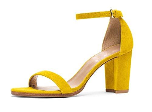 elashe - Correa para el tobillo Mujer amarillo