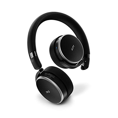 AKG AKGN60NCBTBLK draadloze on-ear hoofdtelefoon met actieve noise cancelling zwart