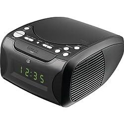 DPI CC314B CLOCK RADIO CD DUAL ALARM