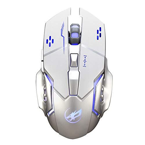 Redvive Top Warwolf Q8 Charging Wireless Gaming Mouse with 6 Buttons USB Receiver Backlight ()