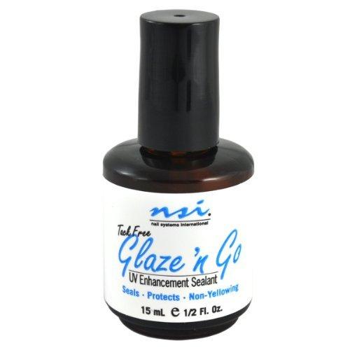 NAIL SYSTEMS INTERNATIONAL Glaze'N Go UV Enhancement Sealant