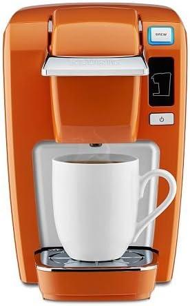 Amazon Com Keurig K15 120316 Single Serve Coffee Maker Burnt Orange Newest Rarest Color Kitchen Dining