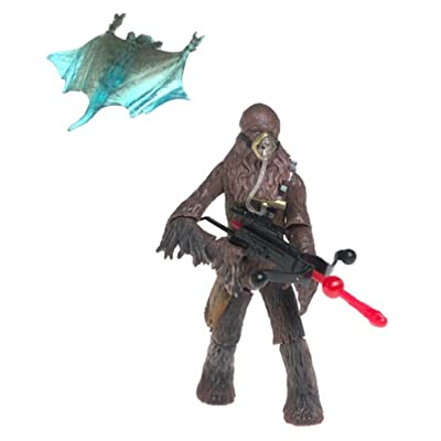 Star Wars: Episode 2 Chewbacca (Mynock Hunt) Action Figure: Toys & Games