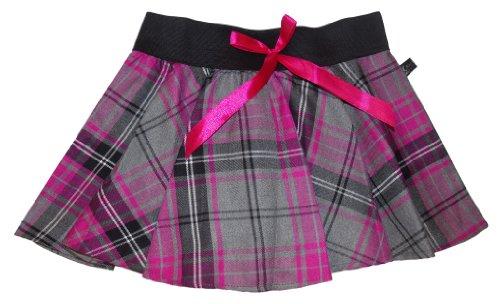ud Crazy Patineuse de Chick Tartan Mini Grey jupe n avec 9 choix Pink Tartan couleurs 8rZx8w4