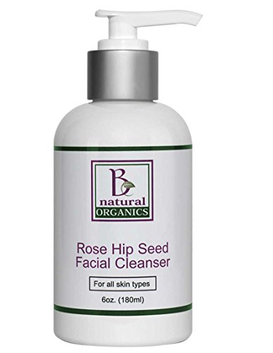 Be Natural Organics Rose Hip Seed Facial Cleanser 6 Oz (180 ()