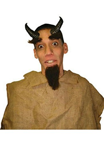 [8eighteen Rubies Costume Co Reel Fx Satyr Horns Costume Accessory] (Satyr Halloween Costumes)