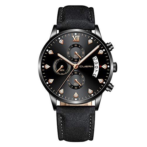- Men's Watch Clement Attlee Fashion Luxury Men Watch Fashion Military Analog Sport Quartz Wrist Watch