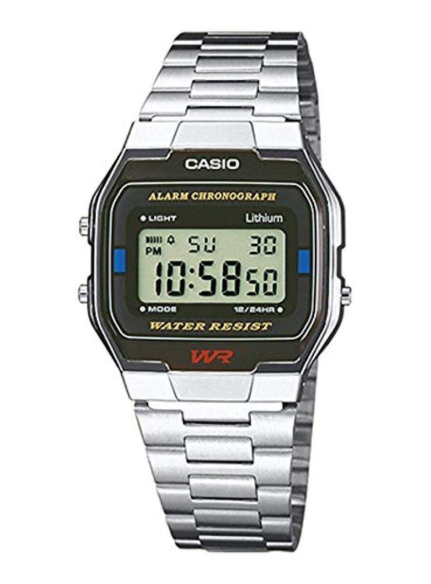 [해외] 【병행수입품】카시오 CASIO 손목시계 시계 칩 카시오 지푸카시 디지탈 A163WA-1