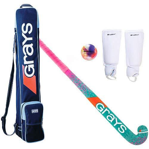 Grays/CRANBARRY Combi Field Hockey Package Pink/Teal 32 ()