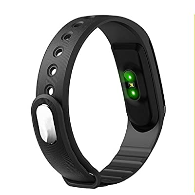 Heart Rate Monitor Smartband Bluetooth 4.0 Music Control Heart Rate Smart Bracelet and Fitness Tracker Wristband for Android iOS