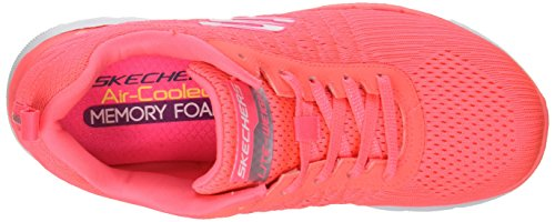 Air Einlegesohle Foam Cooled Crl Free Damen Skechers Gepolsterter Trainers Flex Running Memory mit Outdoor aus 0 Break Appeal Schnürung Pink 2 und 6T1axnAH1