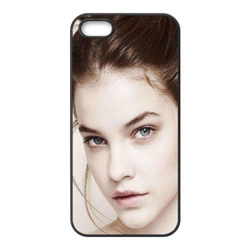Barbara Palvin Face Makeup Look Celebrity coque iPhone 5 5S cellulaire cas coque de téléphone cas téléphone cellulaire noir couvercle EOKXLLNCD21962