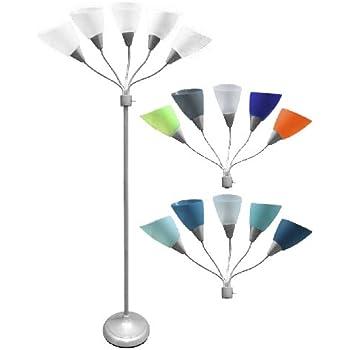 Room Essentials 5 Head Floor Lamp Multiple Floor Lamp Amazon Com