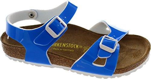 Birkenstock Rio Neon Bleu