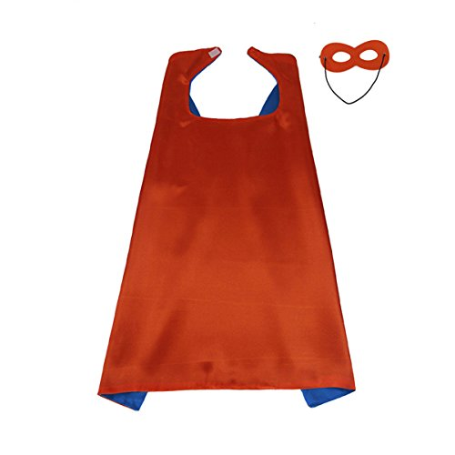 KOSTING Adult Superhero Cape Red, Super Hero Capes for Men, Superhero Gifts Adult, Superhero Gifts for Women -