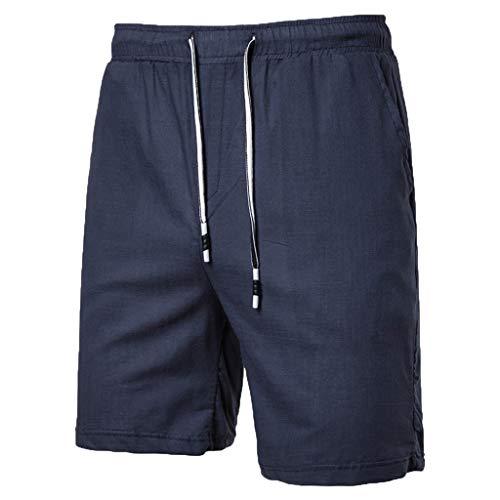 - Simayixx Men's Casual Shorts Workout Comfy Shorts Summer Breathable Loose Shorts Teen Boys Basketball Short Pants Navy