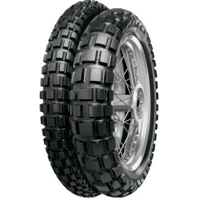 Continental Conti Twinduro TKC80 Dual Sport Tire - Rear - 140/80R-18 , Position: Rear, Tire Type: Dual Sport, Tire Construction: Bias, Load Rating: 70, Speed Rating: R, Tire Size: 140/80-18, Rim Size: 18, Tire Application: All-Terrain 02001470000 by Continental (Image #1)