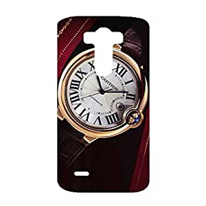 Cartier Watch Phone Fashion Style Pattern 3D Phone Back Case Cover for LG G3 Luxury Cartier Series