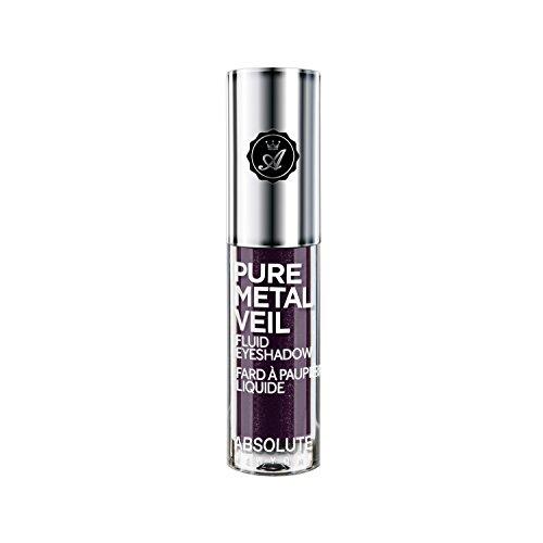 該当するペインコミット(6 Pack) ABSOLUTE Pure Metal Veil Fluid Eyeshadow - Posh Plum (並行輸入品)