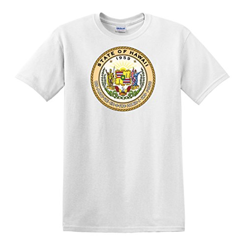 fagraphix Men's Hawaii State Seal T-Shirt XXX-Large - Hawaii Gem State