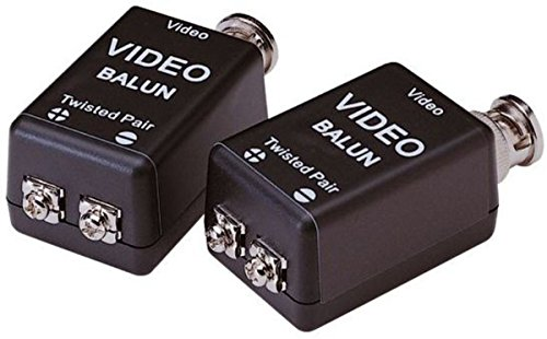 Lupus Electronics - BALUN (Pair) for Transmission of Analogue Camera 2 Wire Lines 10839