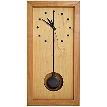 Amazon Com Modern American Made Rectangular Box Clock