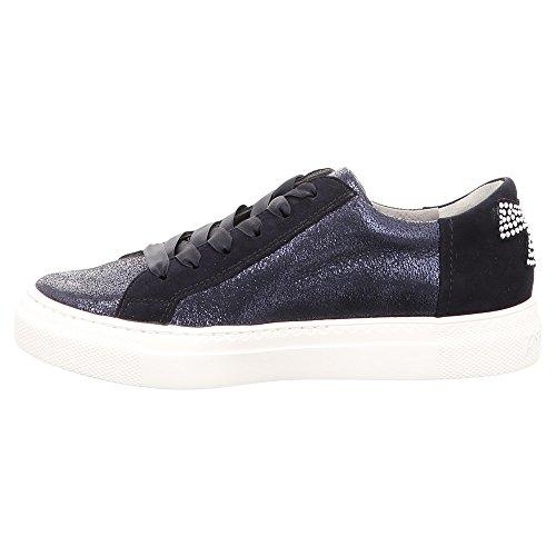 DOLLY DONNA , Damen Niedrige Sneaker , schwarz - schwarz - Größe: 36