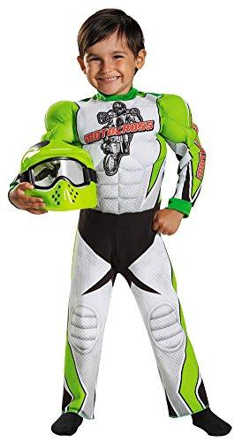 Toddler Halloween Costume- Motocross Toddler Costume Muscle (Motocross Halloween Costumes)