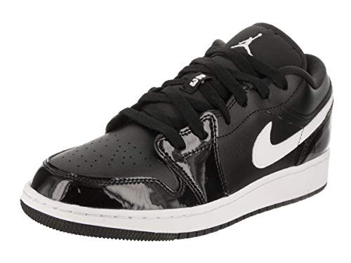 Nike 553560-002 : Air Jordan 1 Low Black White Boy's Trainers (6 Big Kid M) -